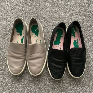 Vince Slip Ons Taupe